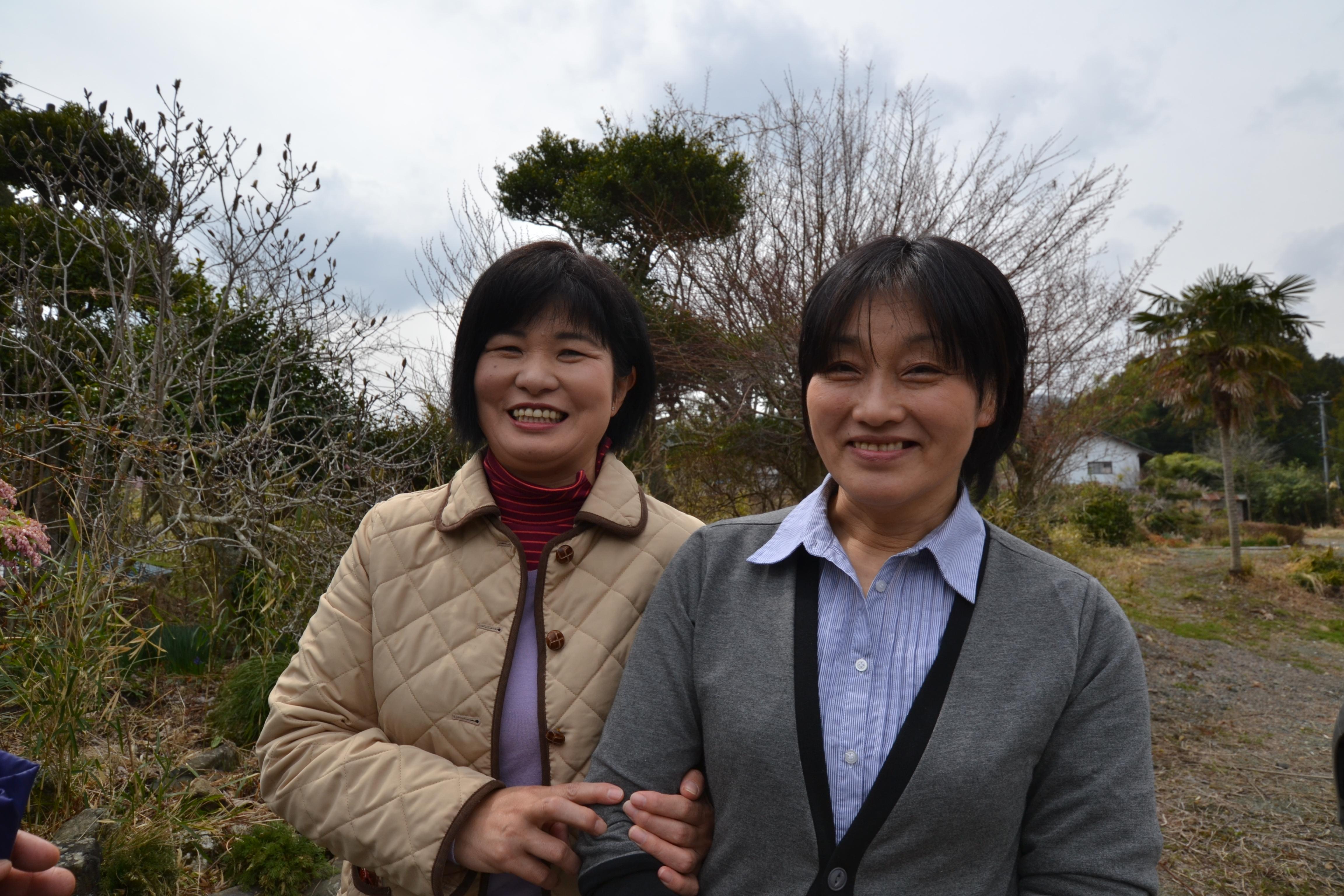 odaka conemned farm;two women interview.JPG