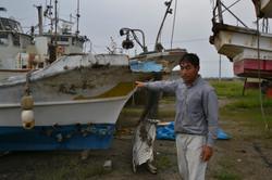 watari damaged fishboat remains.JPG