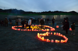 otsuchi family candlelight memorial March 11.JPG