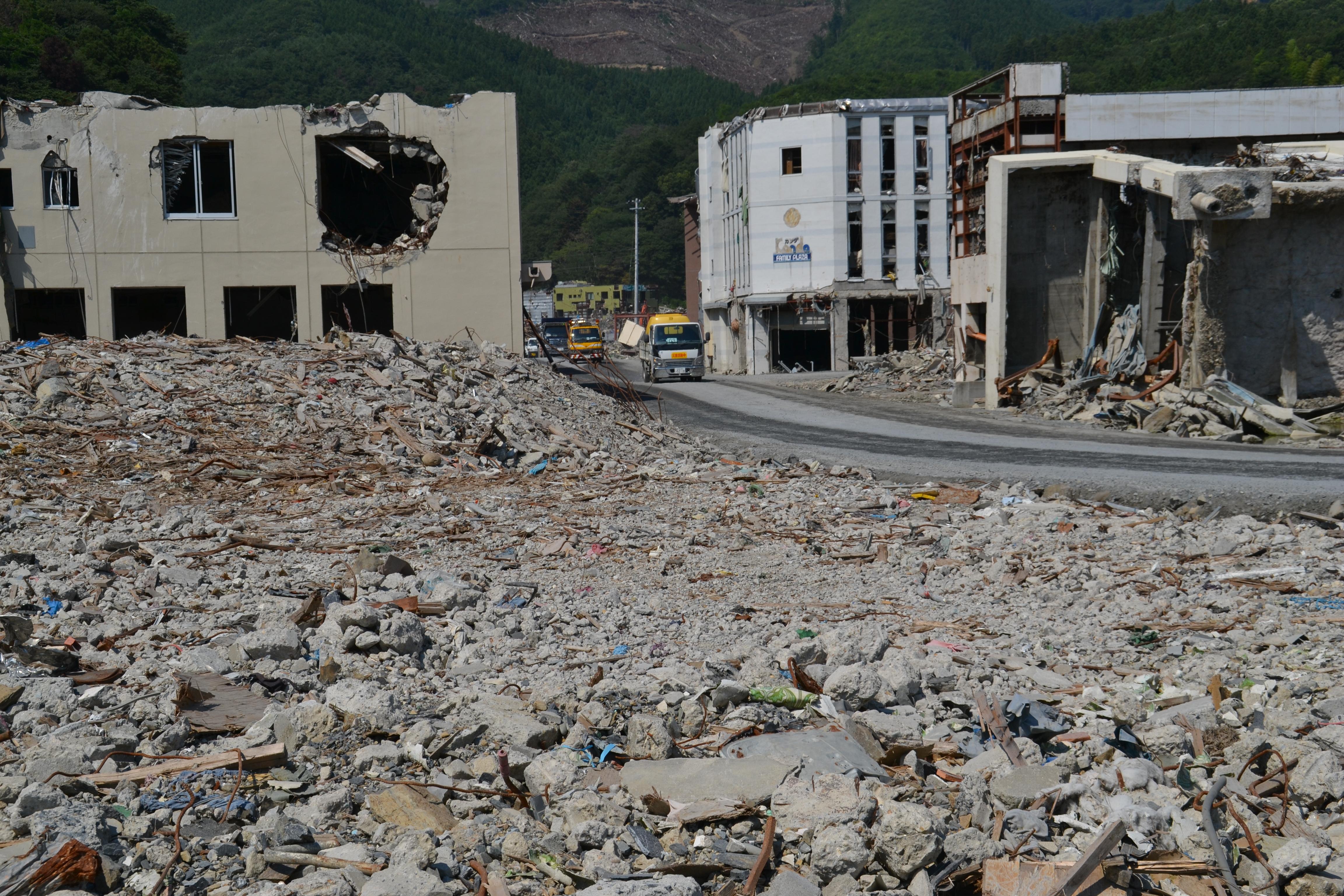 onagawa town center destroyed buildings road.JPG