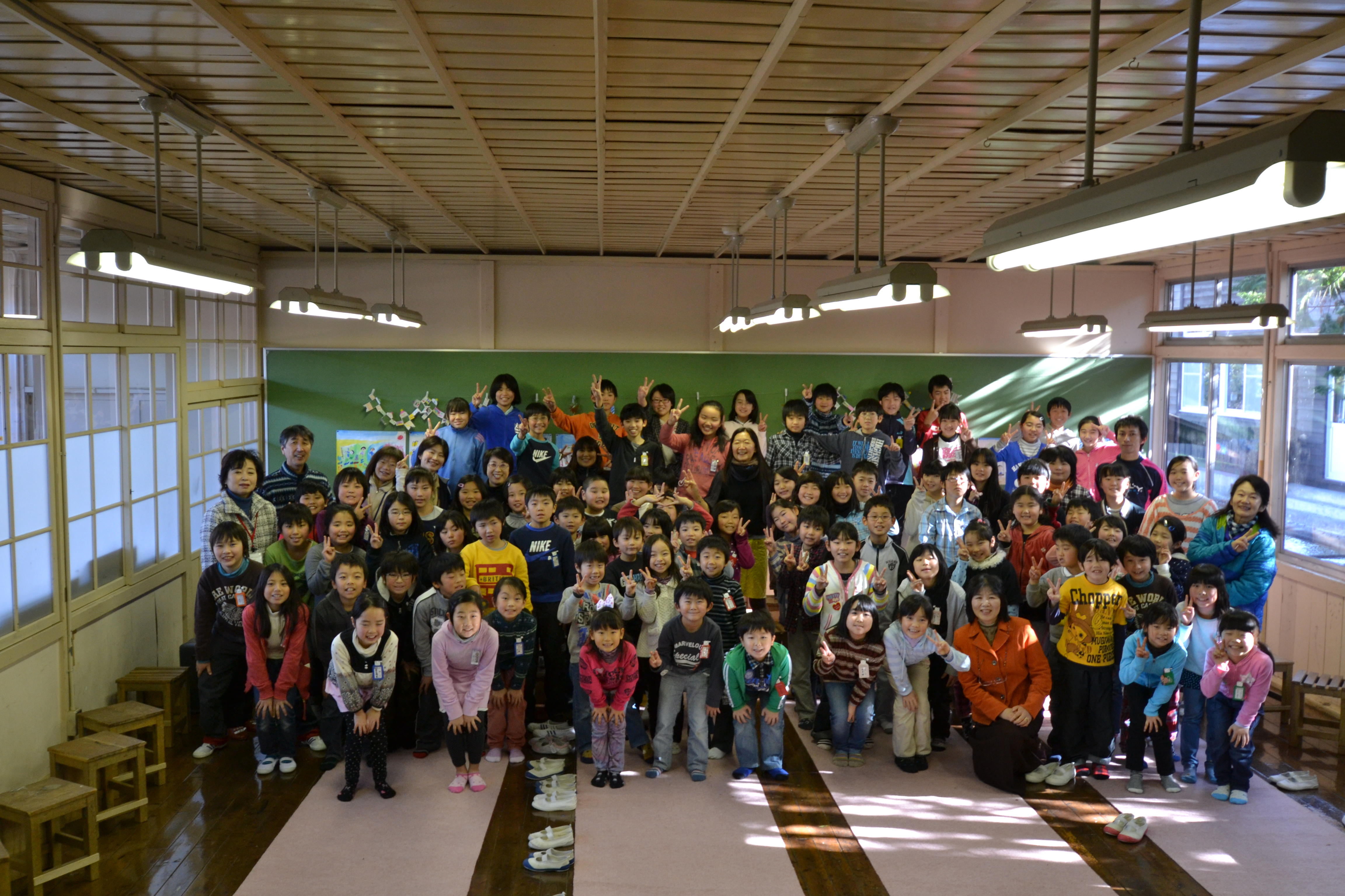 sendai nenoshiroishi students presentation for me.JPG