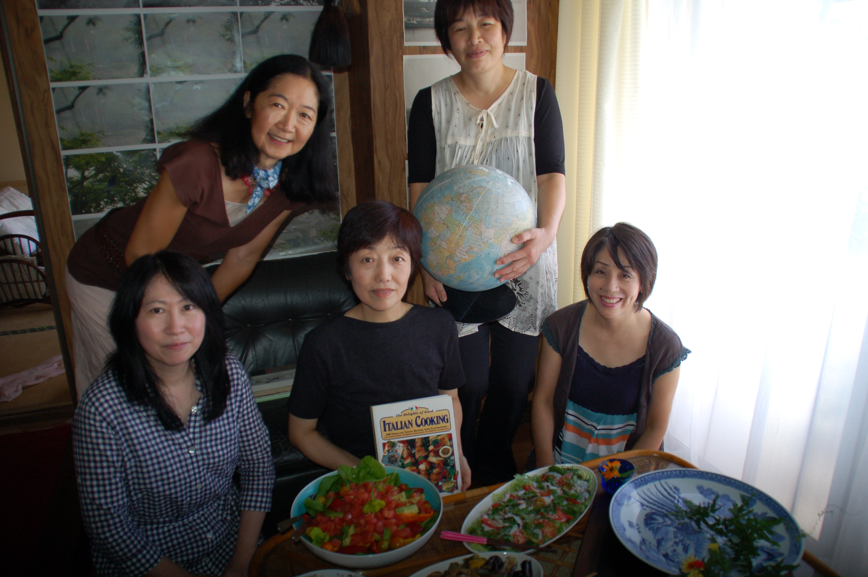 culture learning English and international culture with cooking class, onomichi.JPG