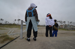 arahama people return to clean up their town.JPG