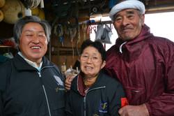 arahama sato fishing family three portrait.JPG