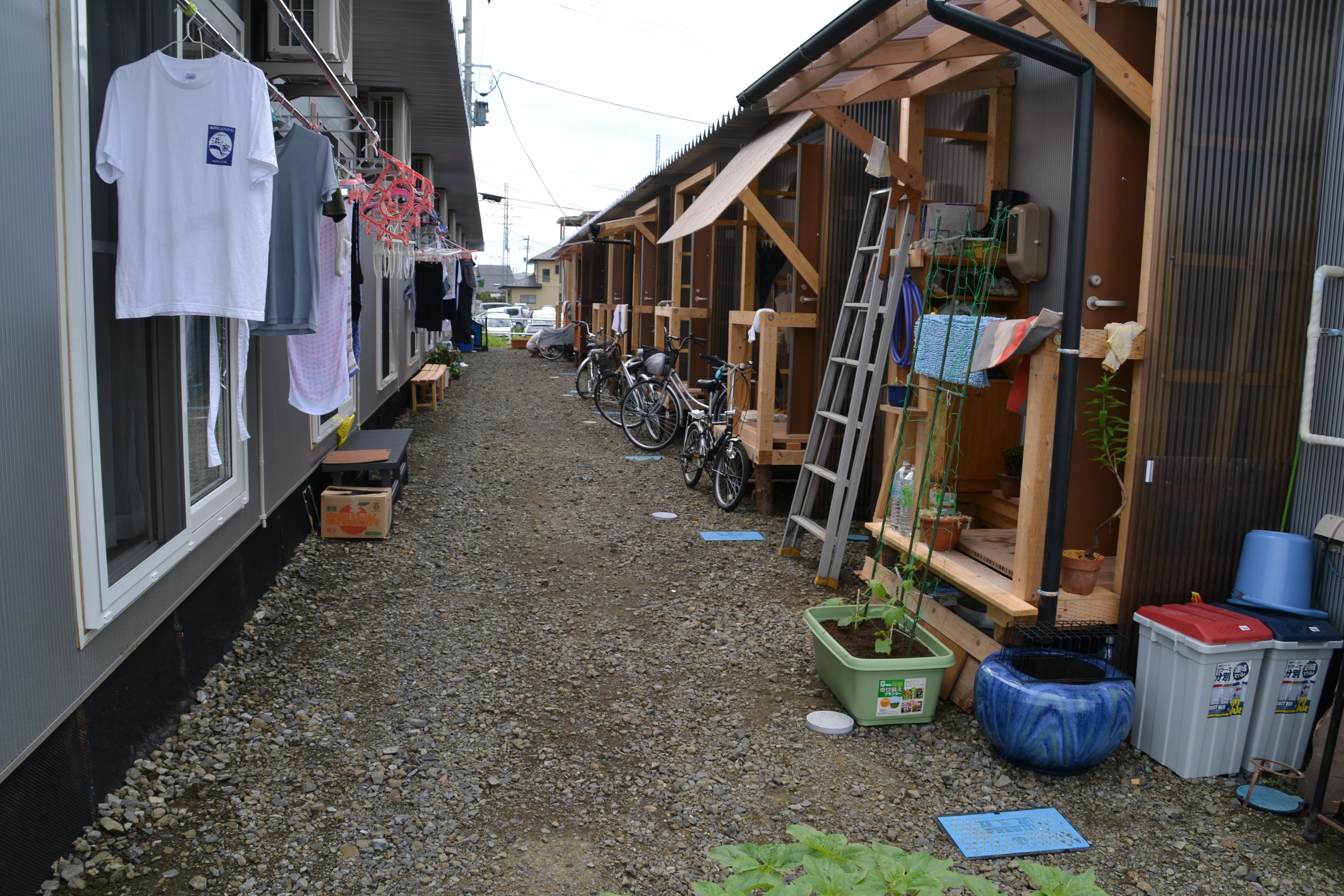 sendai temporary refugee housing  .JPG