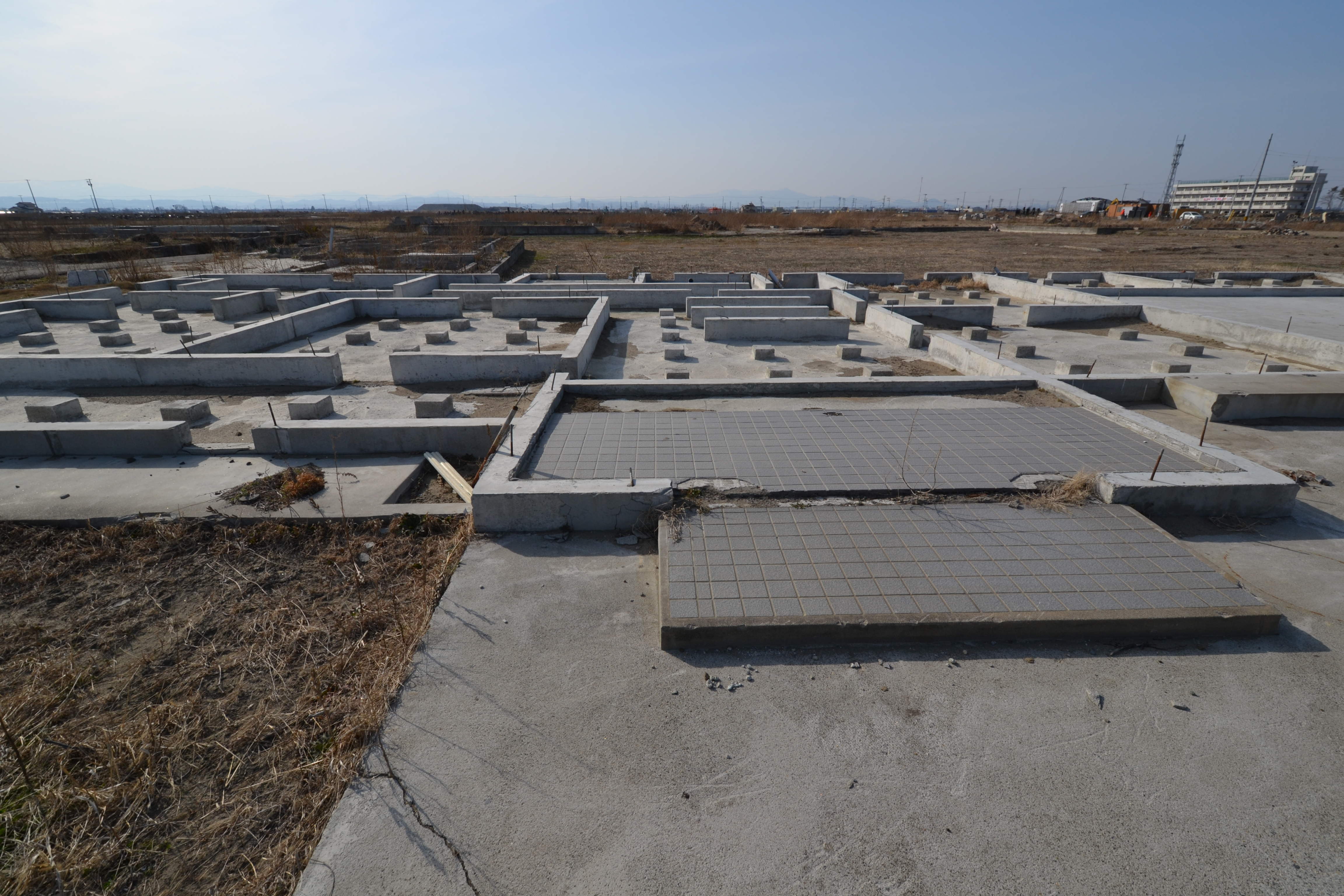 arahama cleanup only foundations left behind.JPG