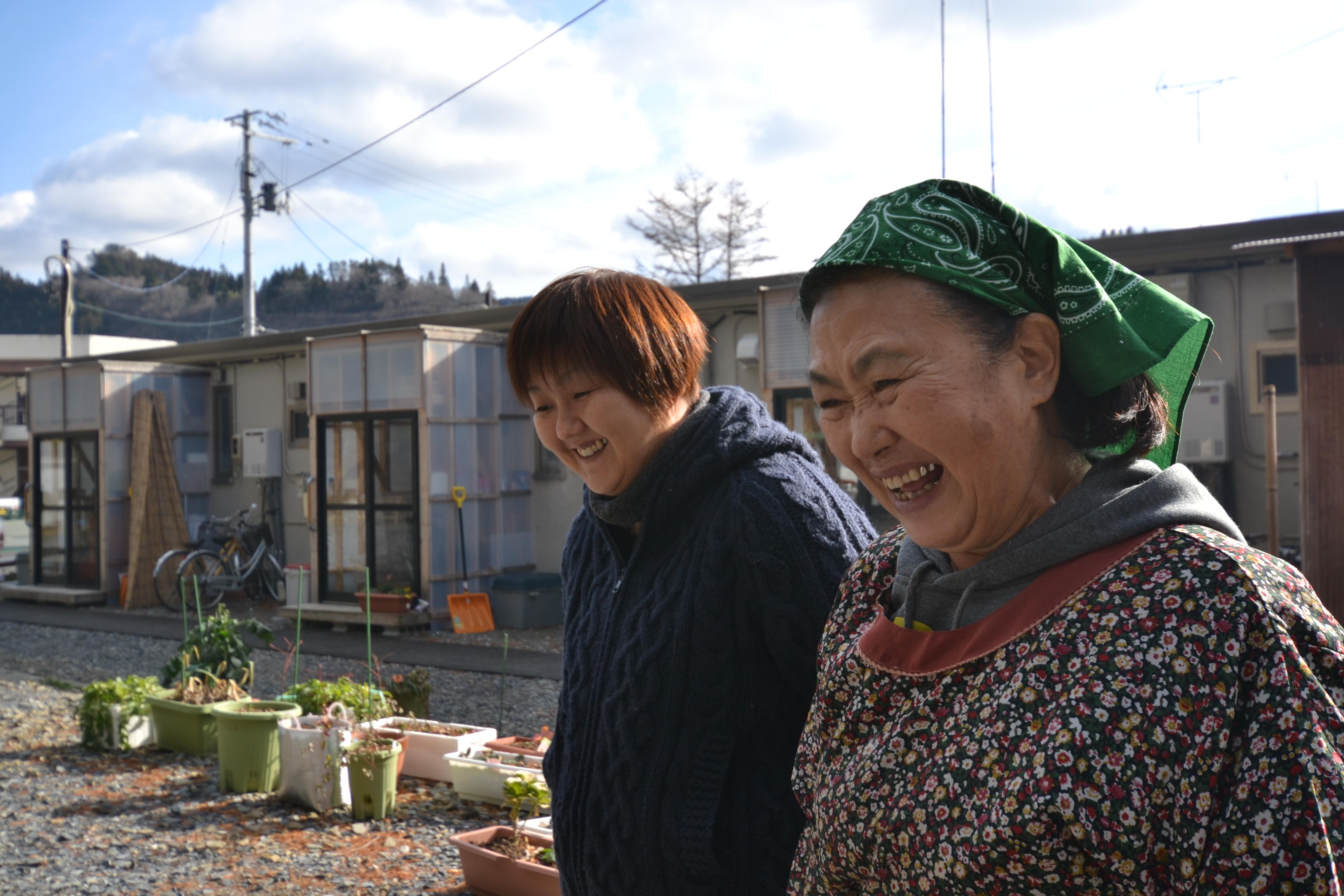 minamisinriku a volunteer and a survivor.JPG