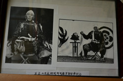 minamisoma samurai black white photos.JPG