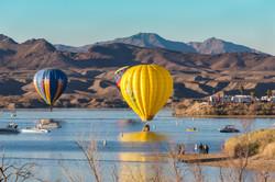 Balloon Water Landing 2018