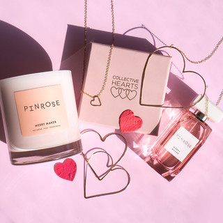 Collective Hearts x Pinrose
