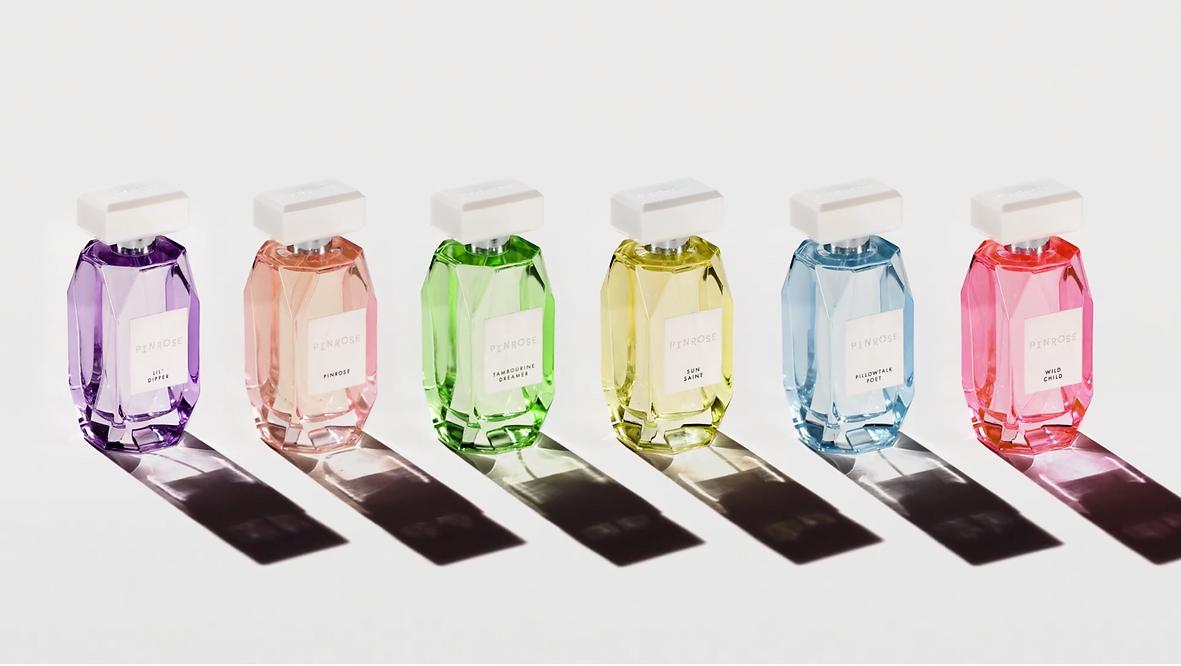 Pinrose bottles