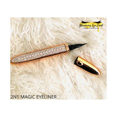 2-N-1 Magic Eyeliner
