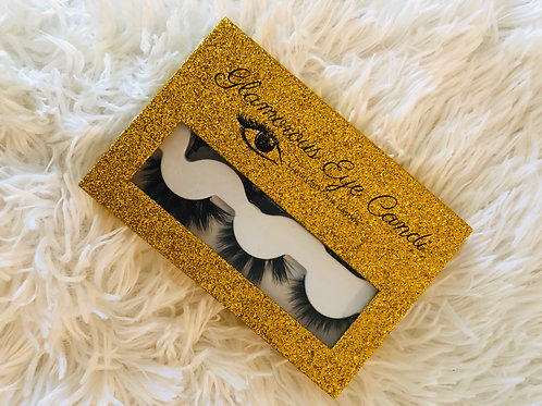 Luxury 3 Pair Lash Book w/ Applicator