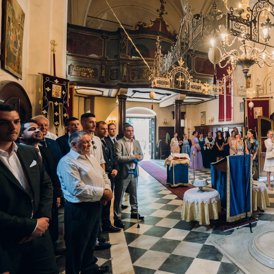 Savina Monastery ceremony