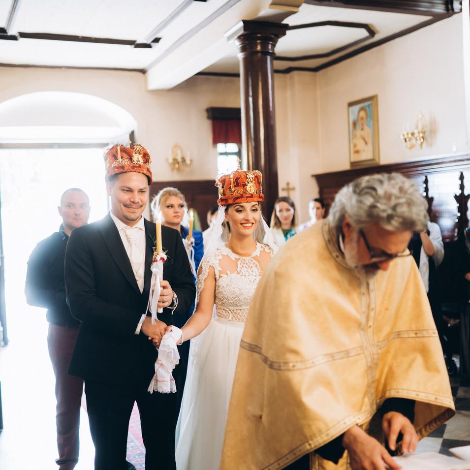 church ceremony Montenegro