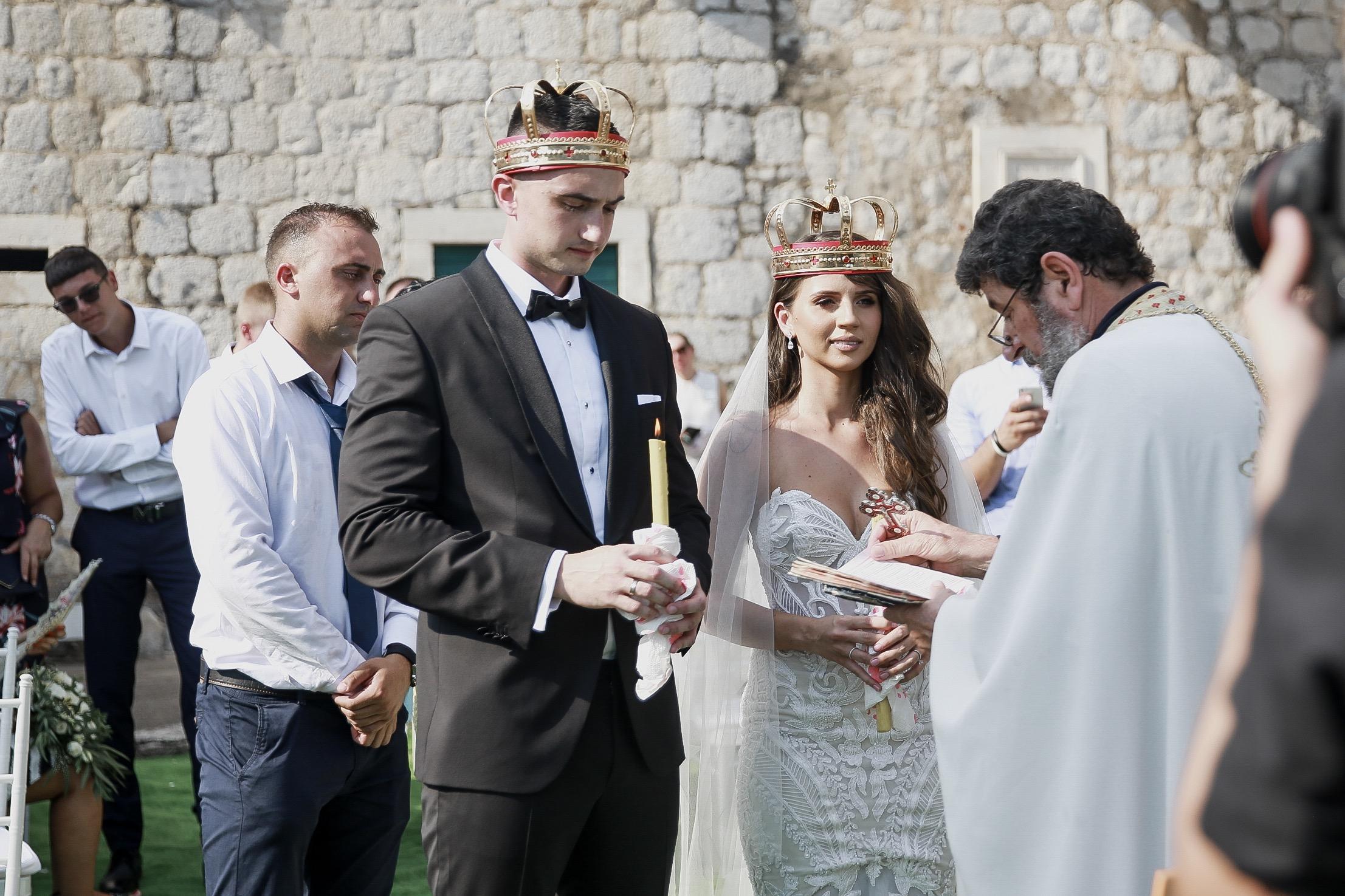 Montenegro Orthodox wedding