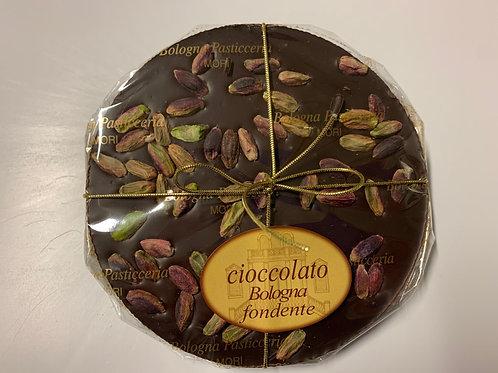 Tortino cioccolato fondente con pistacchi