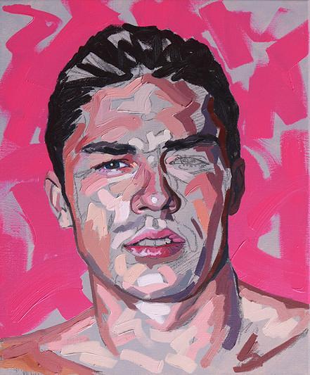 oil on canvas - 46x38 cm