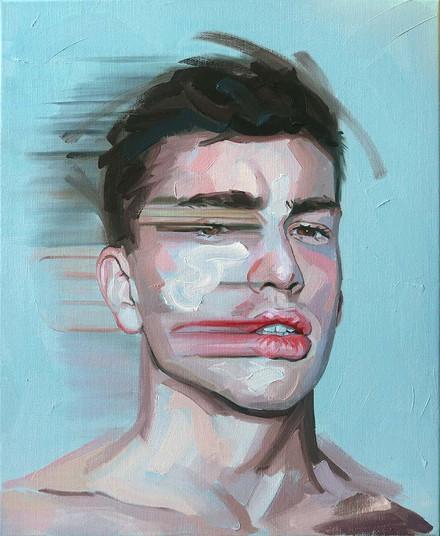 Refracted Head #VII