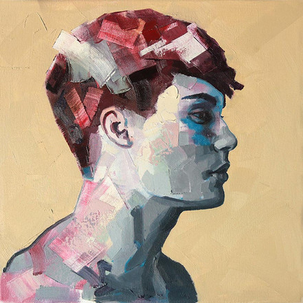 oil on canvas - 30x30 cm