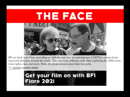 'AIDS DIVA' in 'THE FACE' top picks
