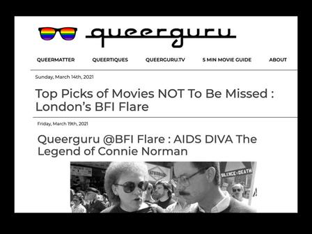 REVIEW of 'AIDS DIVA' from 'Queerguru'