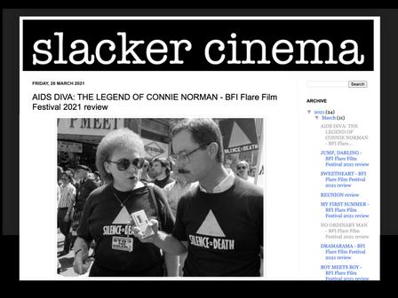 REVIEW of 'AIDS DIVA' from slackercinema blog