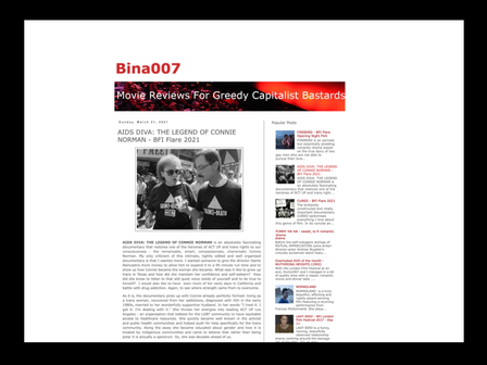 REVIEW of 'AIDS DIVA' by bina007 blog