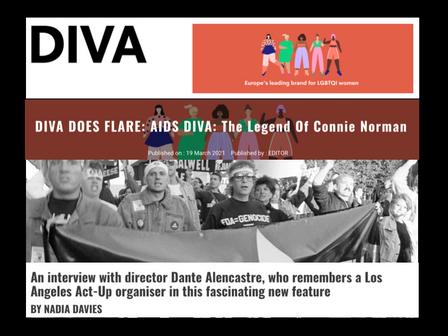 DIVA magazine INTERVIEW