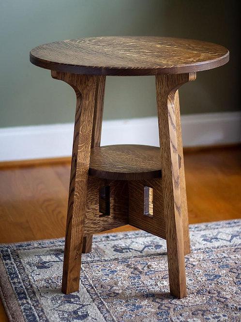 "Craftsman/Mission Side Table 19"""