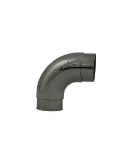 Flush Curved 90°  S/S - 966