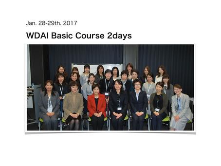 Basic Course 2days