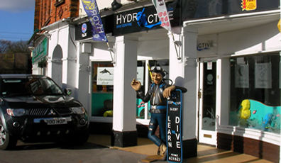 Hydroactive PADI Scuba Hertfordshire Bedfordshire Bucks Cambridgeshire Cambridge Letchworth Hitchin Stevenage Clophill diving
