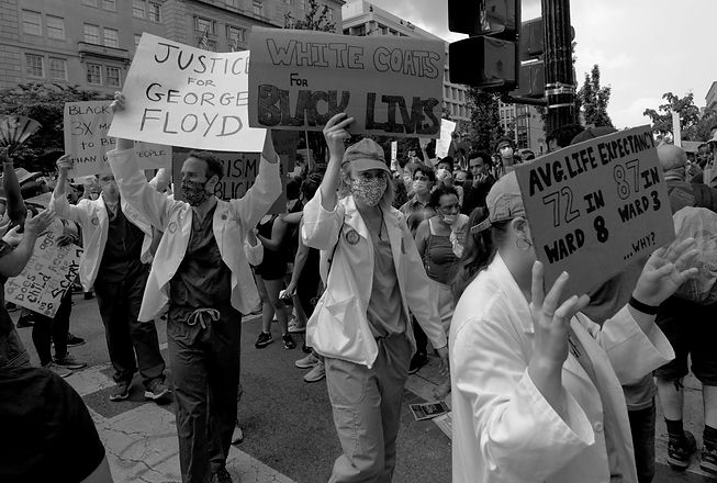 Doctors George Floyd Protest