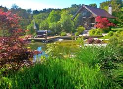 Garten und Schwimmteich