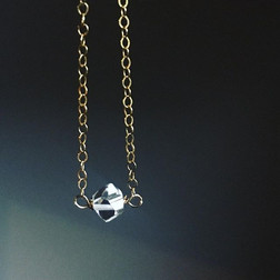 Herkimer diamond points.