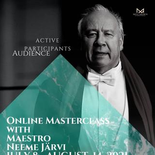 Opus 4: Neeme Järvi Masterclass