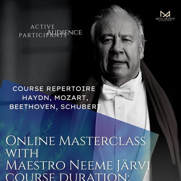 Neeme Järvi 2nd Masterclass