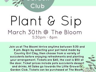 Little Growers Garden Club Fundraiser