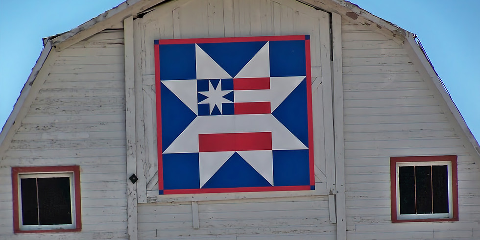 Barn Quilt Contest & Auction ~ Sponsored by the Enchanted Room & Guelff Lumber