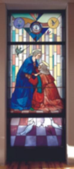 聖母マリアのエリザベト訪問