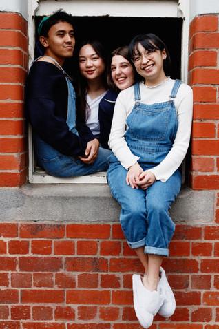 Ari, Coral, Eloise, and Vivian