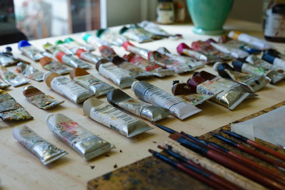 Catherine Abel's studio