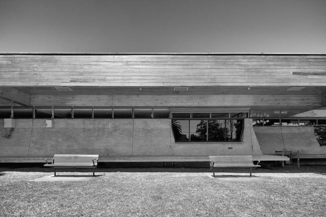 St Kilda Public Library - rear