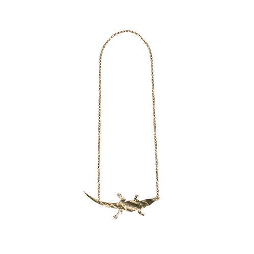 Funky Crocodile Necklace