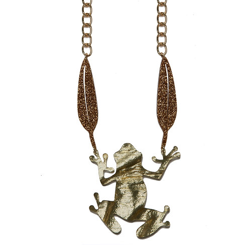 Sweet Frog Necklace