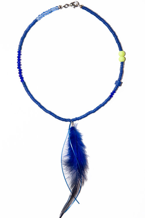Blue Coloured Necklace