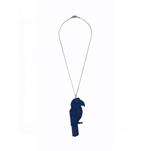 Midnight Blue Ara Necklace
