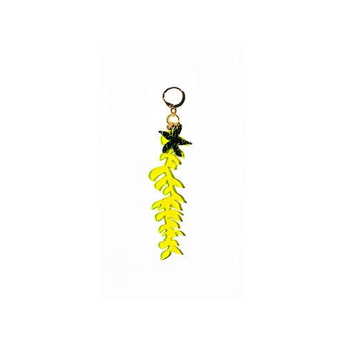 Fluo Seaweed Earring