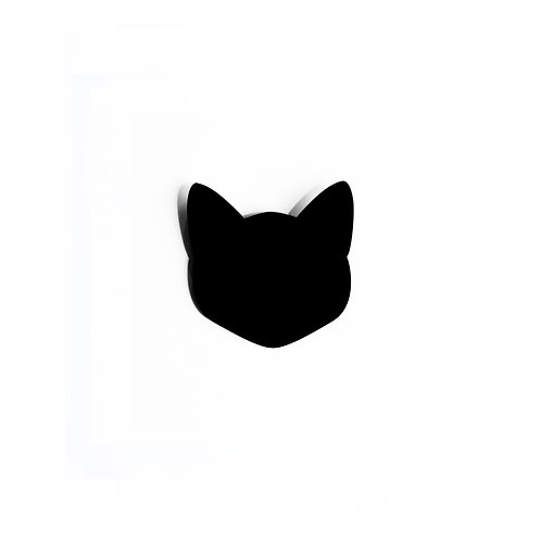 Black Cat Broche